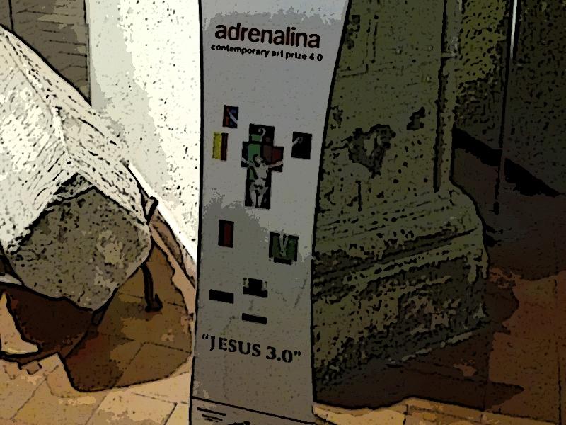 Premio Adrenalina Jesus 3.0 - opening al Museo Civico di Marino