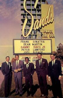 Rat Pack al Sands di Las Vegas, 1960