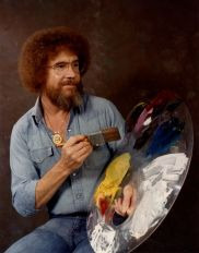 Ritratto di Bob Ross, 1983