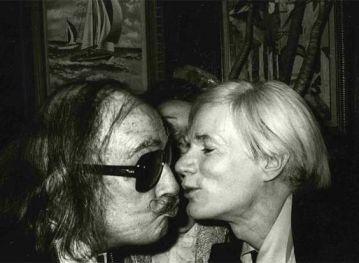 Salvador Dalí e Andy Warhol