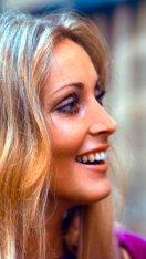 "Sharon Tate, fotografata da Santi Visalli sul set di ""Rosemary's Baby"" a New York City, agosto 1967"