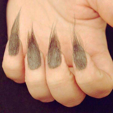 unghie al pellicciotto (di cinghiale)