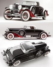 1931 Duesenberg Model J Coupe. Fotografia di Pawel Litwinski