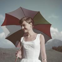 Audrey Hepburn, circa 1955