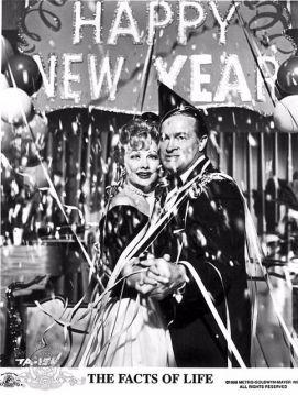 Auguri di Capodanno da Lucy e Bob Hope