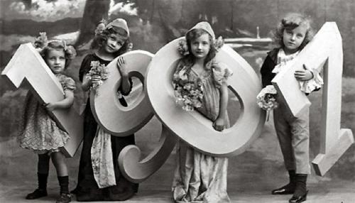Capodanno vintage 1901