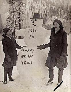 Capodanno vintage 1911
