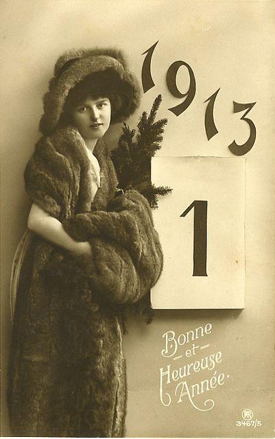 Cartolina vintage 1913