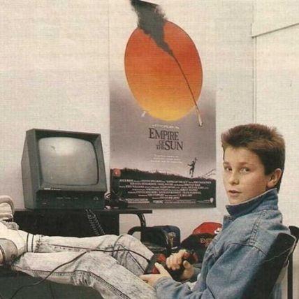 Christian Bale in adolescenza, 1980