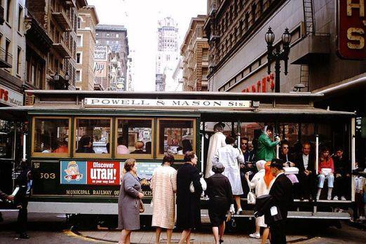 Circa 1960. funivia di San Francisco