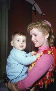 Debbie Reynolds con sua figlia Carrie Fisher