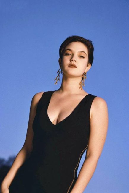 Drew Barrymore fotografata da Douglas Kirkland, 1992
