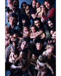 Frank Zappa e The Mothers of Invention, 1968, by Art Kane