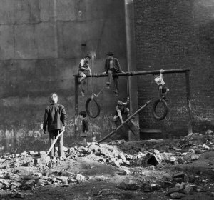 Ken Russell - Boys on Bombsites, 1954