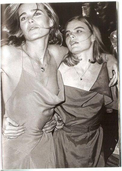 Mariel and Margaux Hemingway