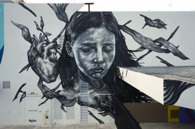 Paola Delfin @Wynwood, Miami, USA