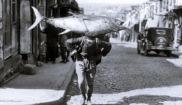 Un pescatore a Istanbul, 1930