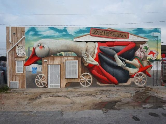 """Zed1's theater"" by Zed1 @Miami, USA"