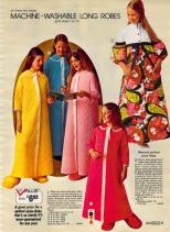 1972 moda vesti da casa lavabili bimbe da Sears