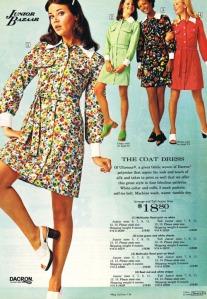 1973 moda per teenager firmata Sears