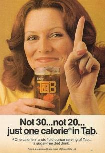 1975, pubblicità Tab cola