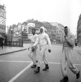 Allenamento di Muhammad Ali per le strade di Londra, 1963