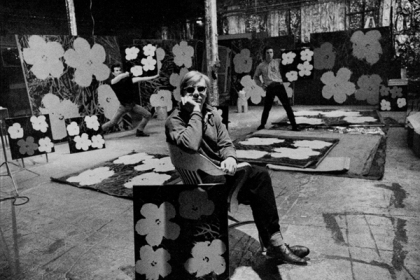 Ugo Mulas - Andy Warhol nella sua Factory, New York 1964