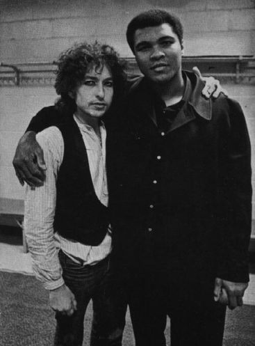 Bob Dylan e Muhammad Ali