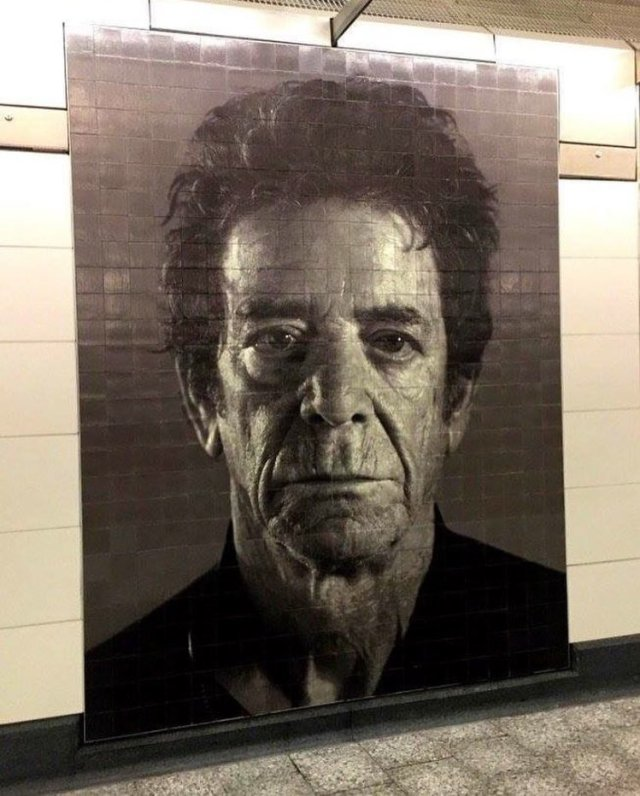 Chuck Close @New York City, USA