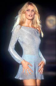Claudia Schiffer per Versace, 1994