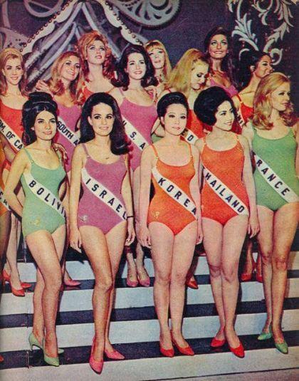 Concorrenti in Miss Universo 1968