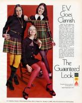 Pubblicità E.V. Fashions, 1972