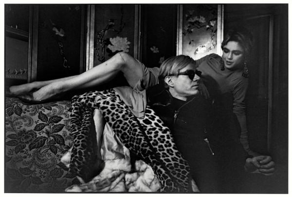 Edie Sedgwick e Andy Warhol. New York, 1964. © estate Ugo Mulas Tutti i diritti riservati