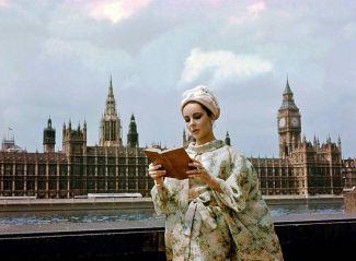Elizabeth Taylor a Londra, Inghilterra. 1963