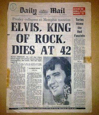 Elvis Presley muore a 42 anni il 16 agosto 1977