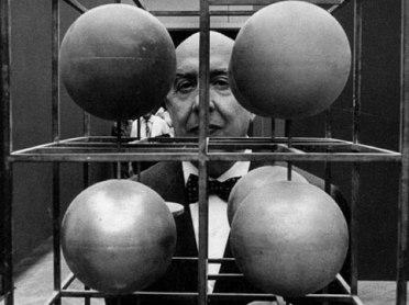 Fausto Melotti by Ugo Mulas