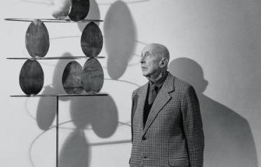 Fausto Melotti, 'Geometria lirica' © Ugo Mulas
