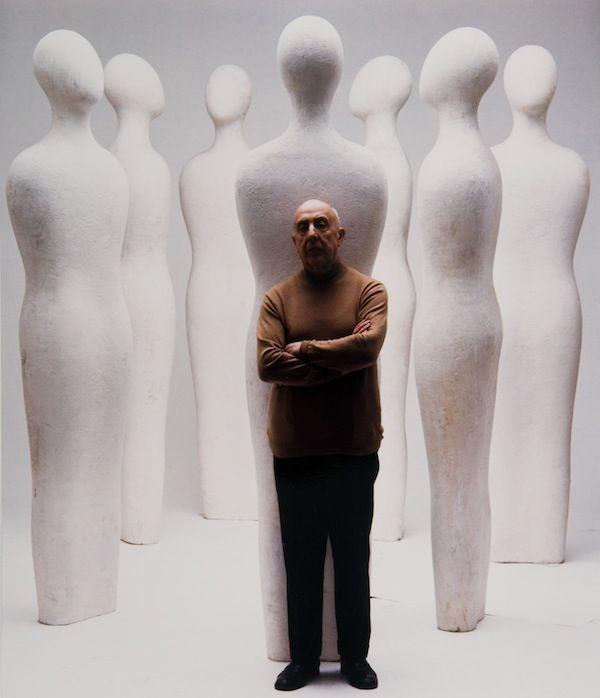 Fausto Melotti nel suo studio by Ugo Mulas