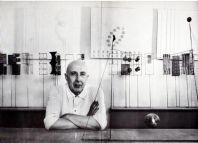 Fausto Melotti. Milano, Galleria dell'Ariete, (Catalogo n. 150), 1969. Catalogo di mostra, ottobre 1969. Testo di Vincenzo Agnetti. Con 7 foto in nero dell'Artista e delle opere di Ugo Mulas
