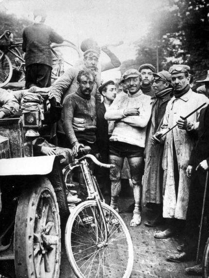 Fine del primo Tour de France, 1903