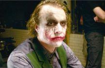 Foto sul set di Heath Ledger durante 'Il cavaliere oscuro' (2008)