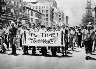 Gay pride parade, 1973