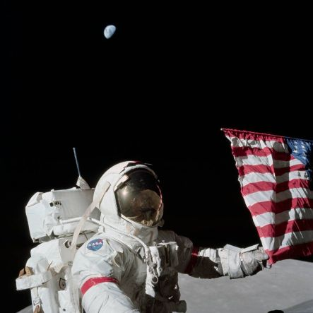 Gene Cernan, l'ultima persona a mettere piede sulla luna