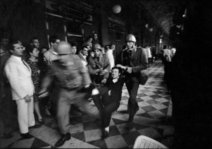 Giangiacomo Spadari, Biennale di Venezia, 1968. Fotografia di ugo Mulas