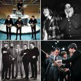 I Beatles durante la loro prima apparizione in televisione negli Stati Uniti, su Ed Sullivan Show