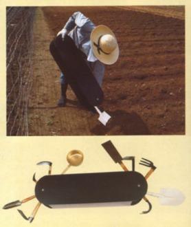 Invenzione bizzarra giapponese - Il coltellino svizzero per il giardinaggio