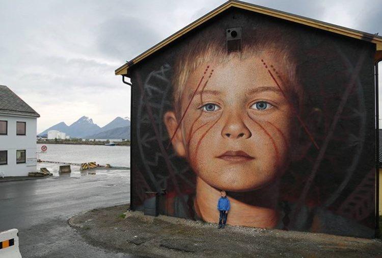Jorit Agoch @Nordland, Norway
