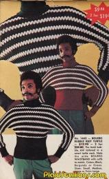 Maglione Bolero Bubble a collo alto, 1970
