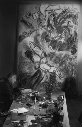 Marc Chagall, 1958. Fotografia di Ugo Mulas