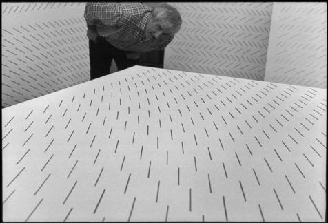 Mario Nigro, Milano, 1970